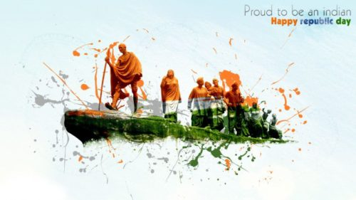 Proud To Be Indian Happy Republic Day