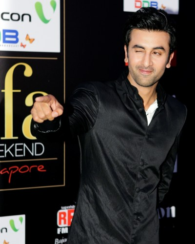 Ranbir Kapoor In Black Kurta
