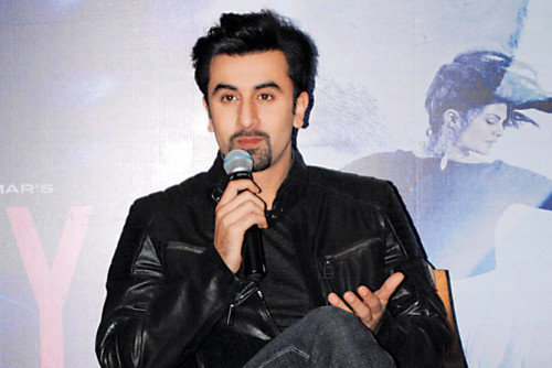 Ranbir Kapoor Interacting With Media