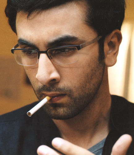 Ranbir Kapoor Trying To Smoke