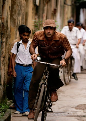 Ranbir Kapoor In Race In Barfi Movie Stills