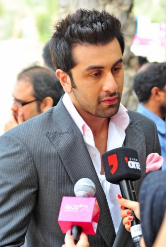 Ranbir Talking To Media