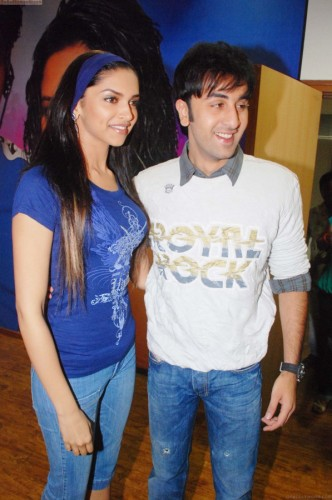Ranbir With His X-Girlfriend Deepika Padukone