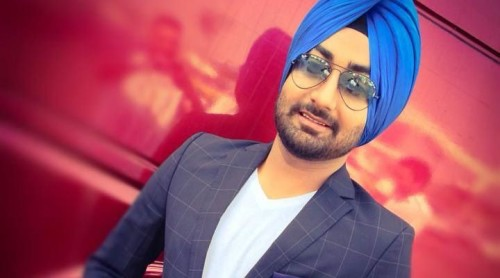 Ranjit Bawa In Blue Turban
