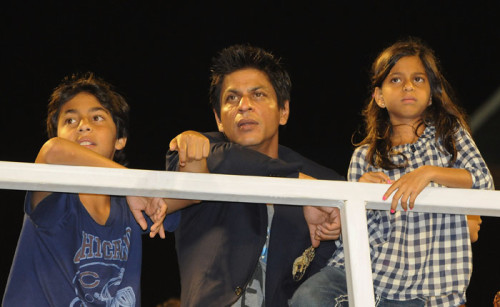 SRK With Kids
