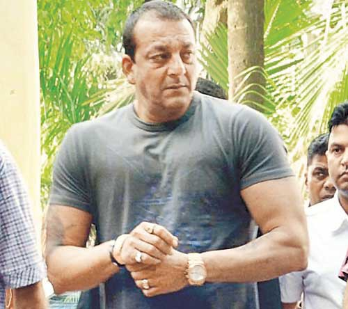 Sanjay Dutt Looking At Side