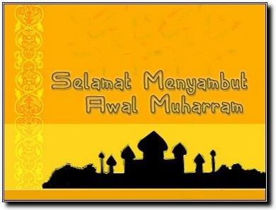 Selamat Menyambut Awal Muharram