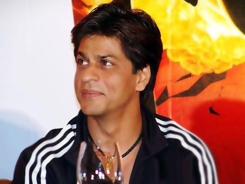 Shahrukh Khan In Track Suit