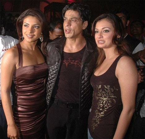 Shahrukh Khan With Bollywood Actress