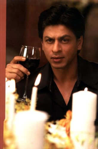 Shahrukh Khan With Drink