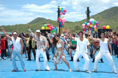 Sharman Joshi shooting for Golmaal Song
