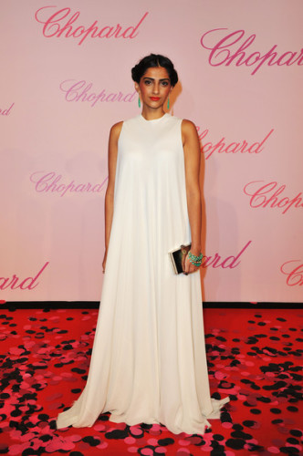 Sonam Kapoor With White Gown