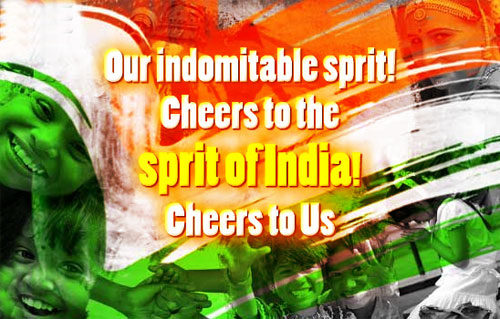 Sprit of India Happy Republic Day