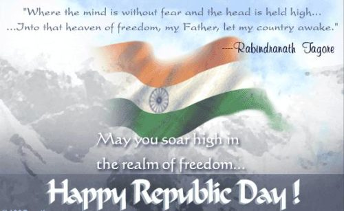 The Realm of Freedom Happy Republic Day