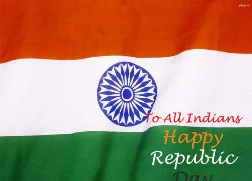 To All Indians Happy Republic Day
