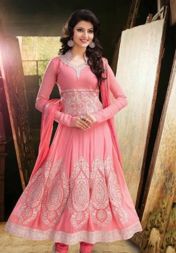 Urvashi Rautela In Pink Dress