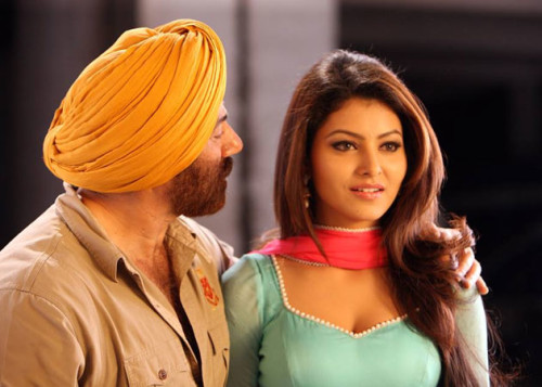 Urvashi Rautela With Sunny Deol In Singh Saab The Great Movie