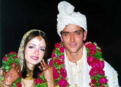 Wedding of hrithik roshan