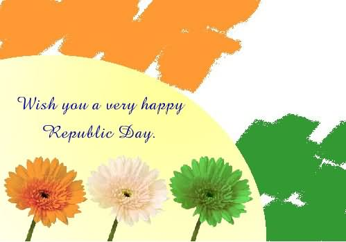 Wish You A Very Happy Republic Day Graphic
