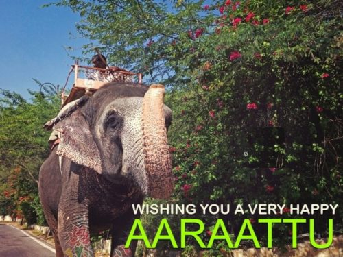 Wishing You A Very Happy Aaraattu