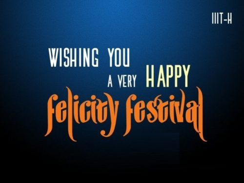 Wishing You A Very Happy Felicity Festival