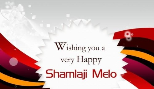 Wishing You A Very Happy Shamlaji Melo