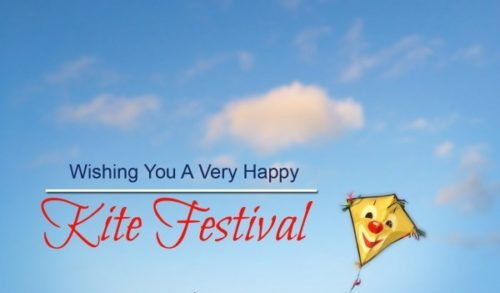 Wishing You Very Happy Kite Festival