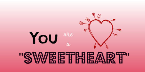 You Are Sweet Heart