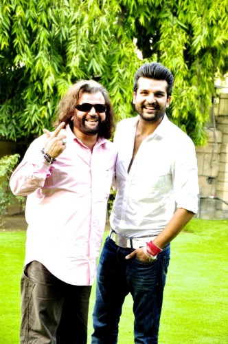 Yuvraj Hans With Father Hans Raj Hans