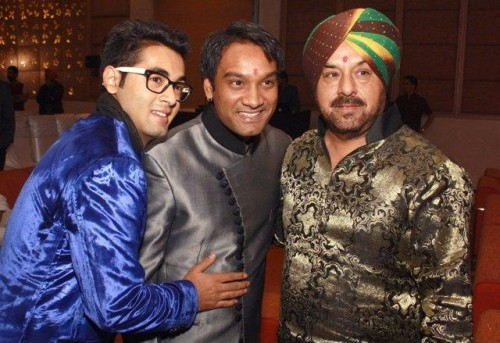Bolllywood and Punjabi lyricist Sanjeev Anand, Kamal Anand`s silver jubilee anniversary, in New Delhi. (Photo: Amlan Paliwal/IANS)