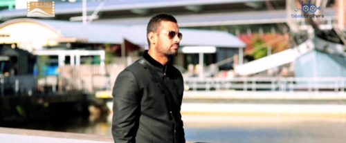 Garry Sandhu In Black Look