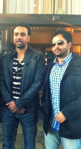 sharry mann with babbu maan
