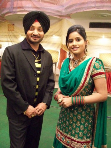 Miss Pooja  With Fan