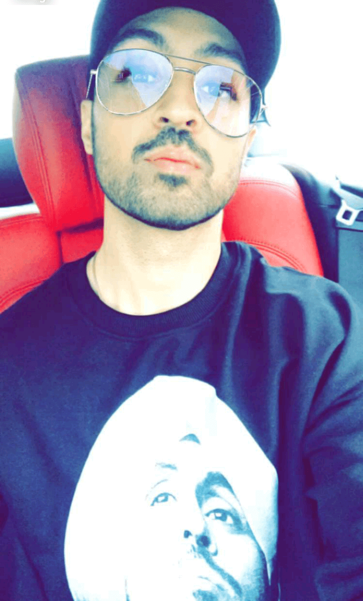 Diljit Dosanjh without turban