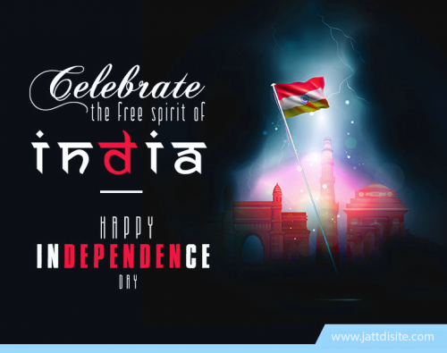 Let your heart bask in free spirit! Happy Independence Day!