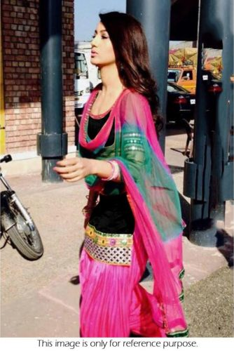Patiala Suit In Pink Colour