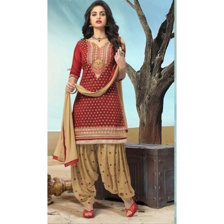 Girly Patiala Suit