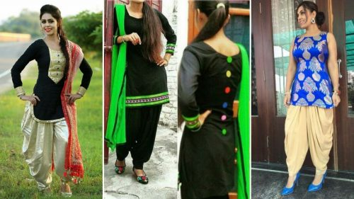 Latest Punjabi Patiala Suits Designs